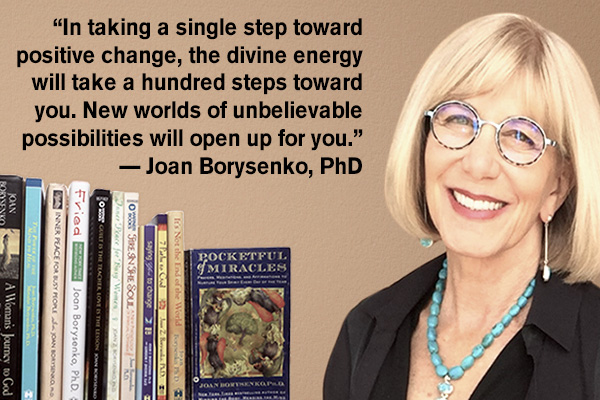 addiction recovery ebulletin Joan Borysenko quote