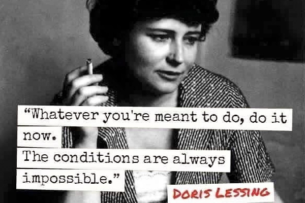 addiction recovery ebulletin doris lessing quote