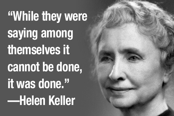addiction recovery ebulletin helen keller quote
