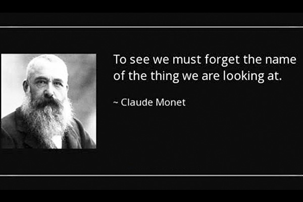 addiction recovery ebulletin monet quote