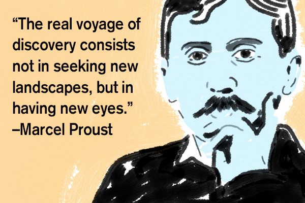 addiction recovery ebulletin quote proust2