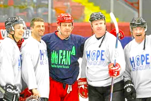addiction recovery ebulletin hockey sobriety