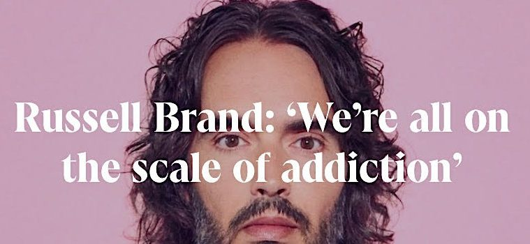 addiction recovery ebulletin russell brand program