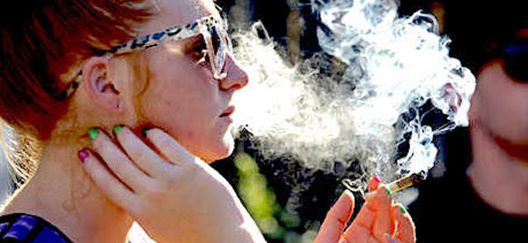 addiction recovery ebulletin secondhand pot smoke