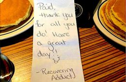 addiction recovery ebulletin thank you breakfast for emt