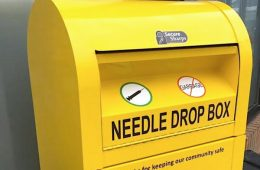 addiction recovery ebulletin starbucks needle disposal boxes