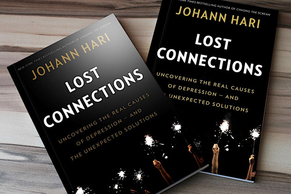 Johann Hari's Journey of Discovery About Depression