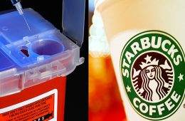 addiction recovery ebulletin starbucks needle boxes