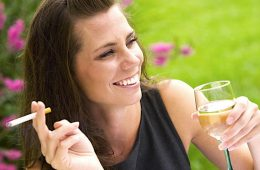 addiction recovery ebulletin wine cancer risk