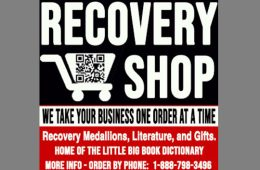 addiction recovery ebulletin Recovery Shop Ad2