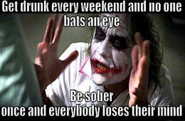 addiction recovery ebulletin sober memes