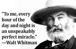 addiction recovery ebulletin walt whitman quote