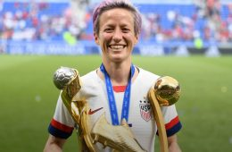 addiction recovery ebulletin Megan Rapinoe soccer2