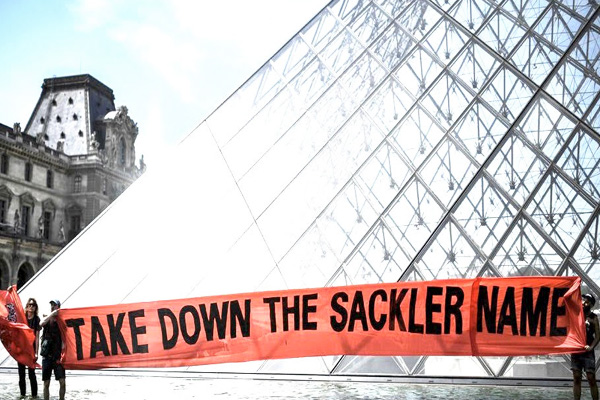 addiction recovery ebulletin louvre removes sackler