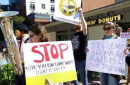 addiction recovery ebulletin police protest
