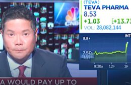 addiction recovery ebulletin teva shares surge