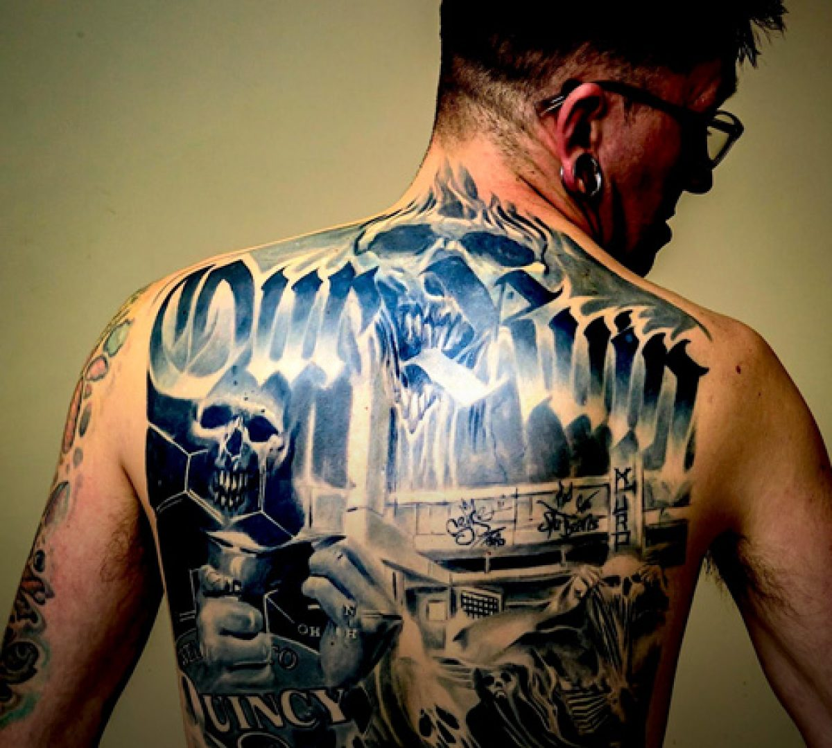 Ink Flesh Tattoo Story Of Addiction Addiction Recovery Ebulletin