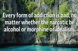 addiction recovery ebulletin carljung quote