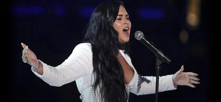addiction recovery ebulletin demi lovato on top