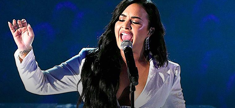 addiction recovery ebulletin demi lovato performs