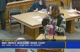addiction recovery ebulletin in court smoking pot