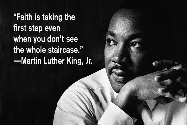 addiction recovery ebulletin lukther king quote