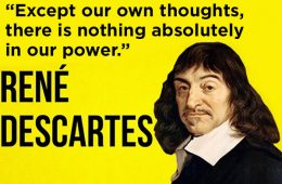 addiction recovery ebulletin quote descartes