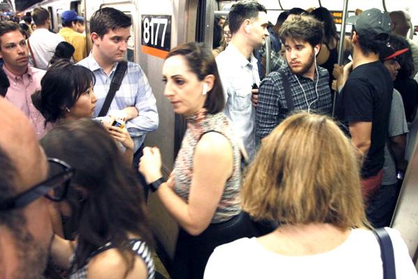 addiction recovery ebulletin newyork subway