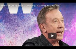 addiction recovery ebulletin tim allen sobriety