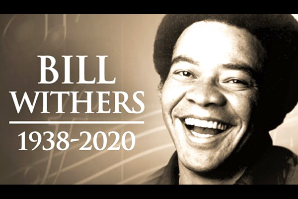 addiction recovery ebulletin Bill Withers passes