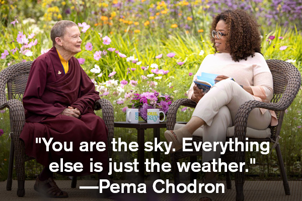 addiction recovery ebulletin quote pema chodron