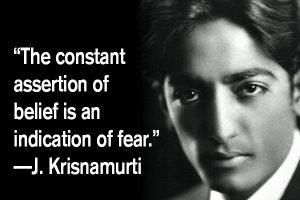 addiction recovery ebulletin quote j Krishnamurti