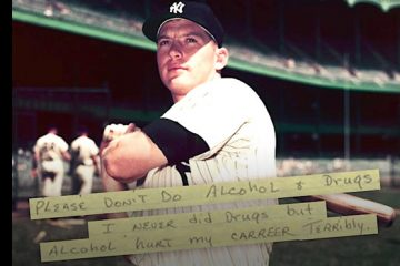 addiction recovery ebulletin Mickey Mantle advice